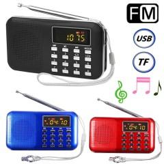 USB Girişli FM Radyo MP3 Çalar