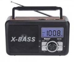 USB SD Kartli Şarjlı Mp3 Çalar Radyo Dijital Gösterge