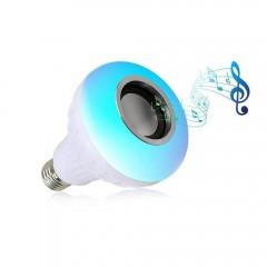 Watton Uzaktan Kumandalı, Bluetooth Hoparlör Renkli Led Kablosuz Lamba Ses Bombası