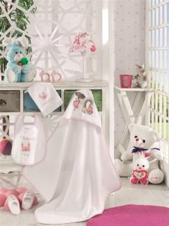 Z&R HOME Bambu 4 Parça Bebek Kundak Seti - Fairy