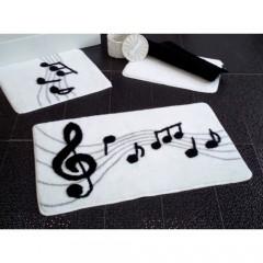 Melodi Beyaz 3'lü Banyo Takımı Seti