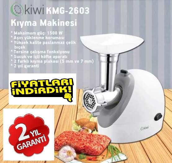 Kiwi Et Kıyma Makinası Kmg 2603