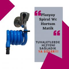 Plasyay Spiral Wc Hortum Matik