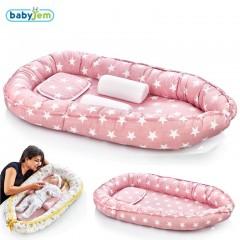 Babyjem Anne & Baba Yanı Yatağı Pembe