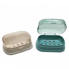 Banyo Sabunluk Şeffaf Kapaklı 2 Adet 14528S