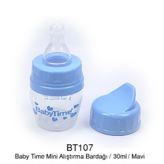 BabyTime Mini Alıştırma Bardağı - Mavi