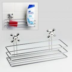 Banyo Rafı Duş Rafı Vakumlu Banyo Rafı Şampuanlık VİP-29950