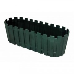 Poliwork Saksı Renkli Akasya Plastik Saksı 40cm Yeşil VİP-29954