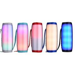 Kablosuz Bluetooth Hoparlör Renkli Işıklı