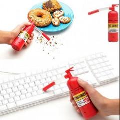 Yangın Tüpü Klavye Masa Üstü Temizleyici Pilli Mini El Süpürgesi