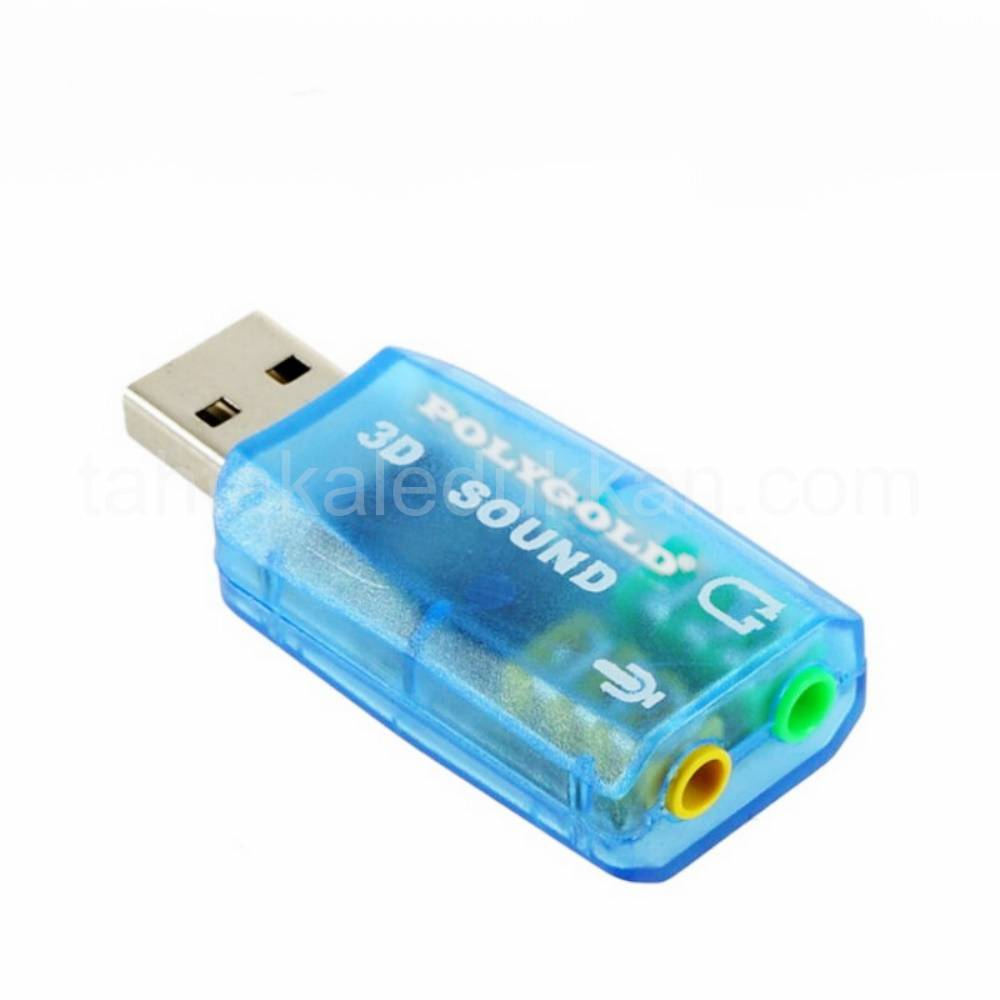 3D USB SES KARTI