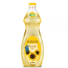 SUNAR Ayçiçek Yağı 1 LT. İncebelli Şişe