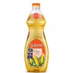 SUNAR Mısır Yağı 1 LT İncebelli Şişe
