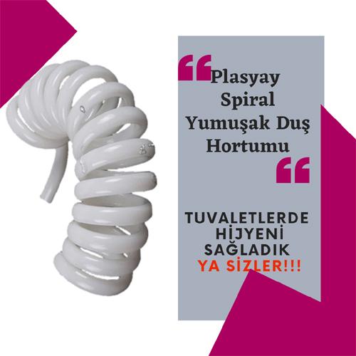 Plasyay Spiral Hortum 1.5 Metre