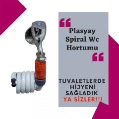 Plasyay Spiral Balkon Yıkama Hortum Seti 1 Metre-0