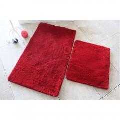 Alessia Home Colors Of Alessia 2 Li Set Kırmızı Banyo Takımı