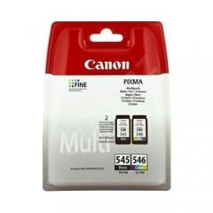 Canon PG-545BK + CL-546 2'li Paket Kartuş-0