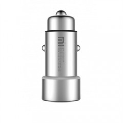 Xiaomi Araç Şarj Cihazı Gri Metal Tasarım 2 USB (3.6 A Hızlı Şarj)-1