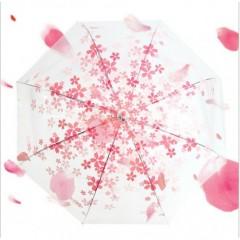 Desenli Şeffaf Şemsiyeler