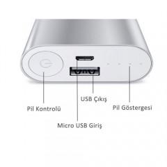Xiaomi 10000 mAh Taşınabilir Şarj Cihazı-3