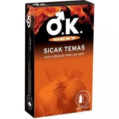 Okey Sıcak Temas Prezervatif 10'lu