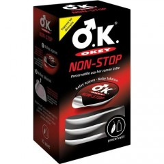 Okey Non-Stop Prezervatif 10'lu