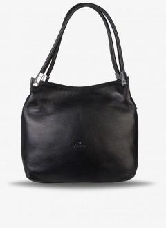 Deri Bayan Kol Çantası / 586 - Siyah