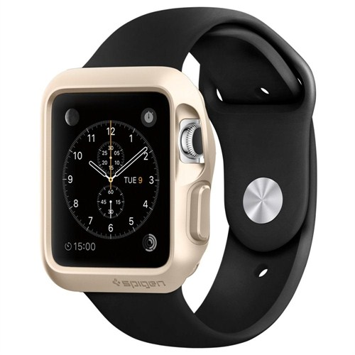 Spigen Sgp Apple Watch Kılıf Slim Armor (38mm) Champagne Gold