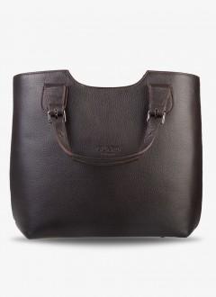 Deri Bayan Kol Çantası / 684 - Kahverengi