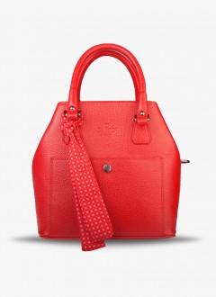 Deri Bayan Kol Çantası / 580 - Kırmızı