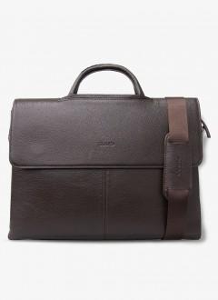Guard Deri Evrak ve Laptop Çantası / 1803 - Kahverengi