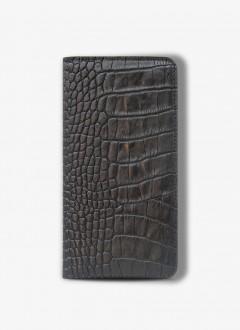 Unisex El Portföyü / 3028 - Black Croco