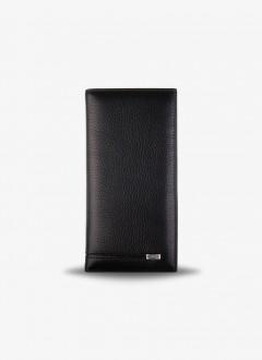 Unisex Fermuarsız Cüzdan / 3010 - Siyah