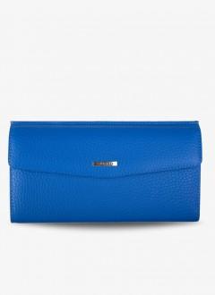 Pastel Renkli Deri Bayan Cüzdanı / 2223 - Mavi