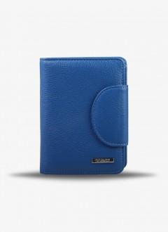 Deri Bayan Cüzdanı / 1232 - Mavi