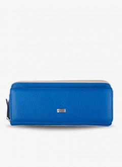 Deri Bayan Cüzdanı / 1263 - Mavi
