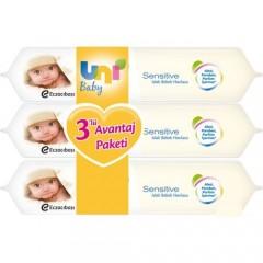 Uni Baby Sensitive Islak Havlu 56 Yaprak / 4 Adet
