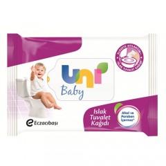 Uni Baby Islak Tuvalet Kağıdı 60 Yaprak