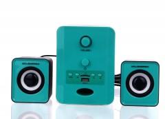 2+1 Speaker Powerstar PW-1009 Usb Muzik Çalar Radyo