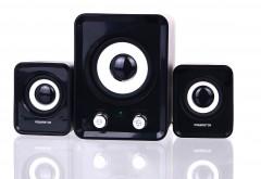 2in1 Hoparlör Ses Sistemi Usb ve Hafıza Kartı Girişli FM Radyolu PW-1007