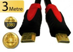 Altın Kaplama HDMI Kablo 3Mt