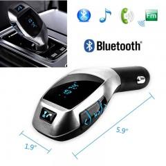 Bluetoothlu Araç Kiti Fm Transmitter X5