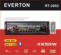 Bluetoothlu Oto Teyp Everton RT-2002 Mp3 Çalar