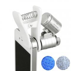 Cep Telefonu İçin Mini Mikroskop 60x Zoom