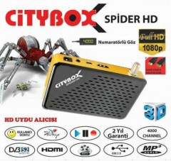 Citybox Spider Hd Osd Göstergeli