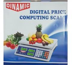 Dinamic Elektronik Terazi Market Manav Terazi 40 Kg