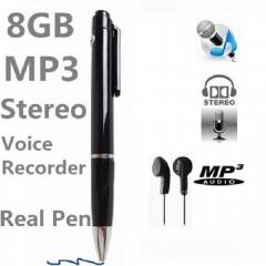 Kalem Ses Kayıt Cihazı 8 Gb Hafıza