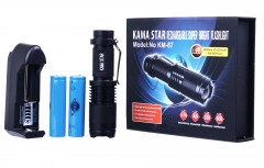 Kama Star Zoomlu Şarjlı El Feneri KM-87
