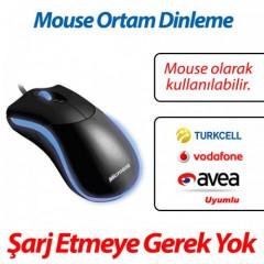 Mouse Ortam Dinleme Cihazı USB Tak Çalıştır