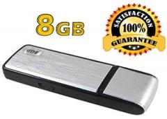 Ses Aktivasyonlu USB Disk Ses Kayıt Cihaz 8 Gb
